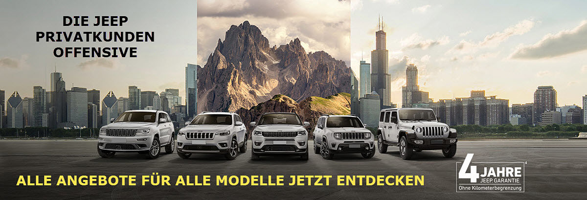 Jeep Privatangebot Q1 2020